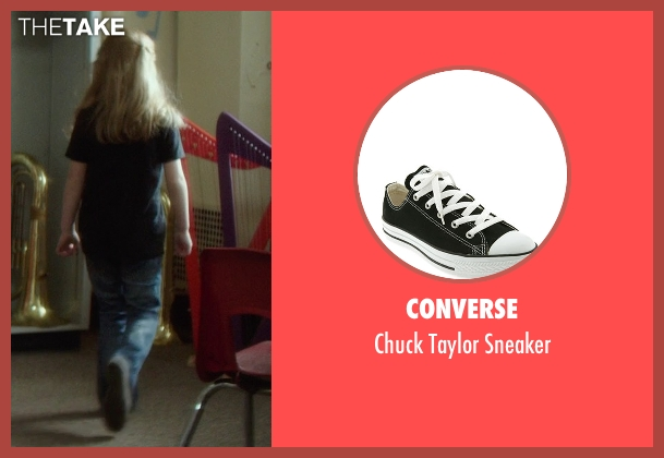 Converse black sneaker from If I Stay seen with Gabrielle Cerys Haslett (Young Mia Hall)