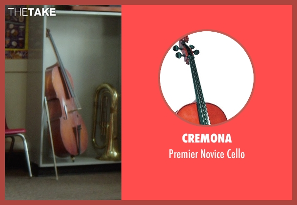 Cremona cello from If I Stay seen with Gabrielle Cerys Haslett (Young Mia Hall)