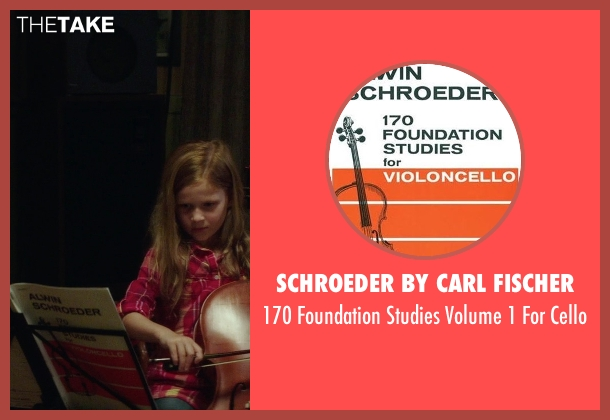 Schroeder By Carl Fischer cello from If I Stay seen with Gabrielle Cerys Haslett (Young Mia Hall)