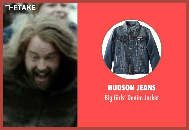Hudson Jeans jacket from If I Stay seen with Gabrielle Cerys Haslett (Young Mia Hall)