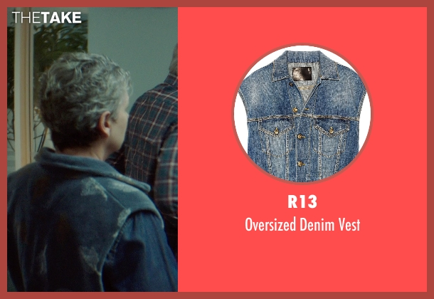R13 blue vest from If I Stay seen with Gabrielle Rose (Gran)