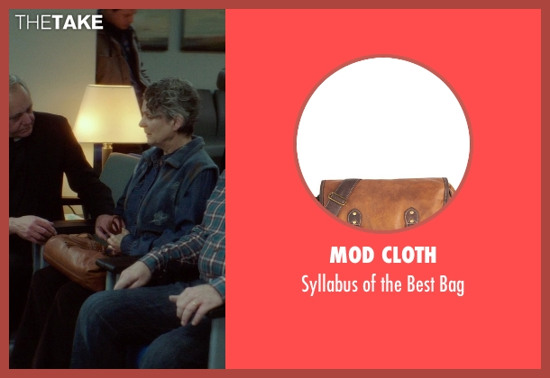 Mod Cloth brown bag from If I Stay seen with Gabrielle Rose (Gran)