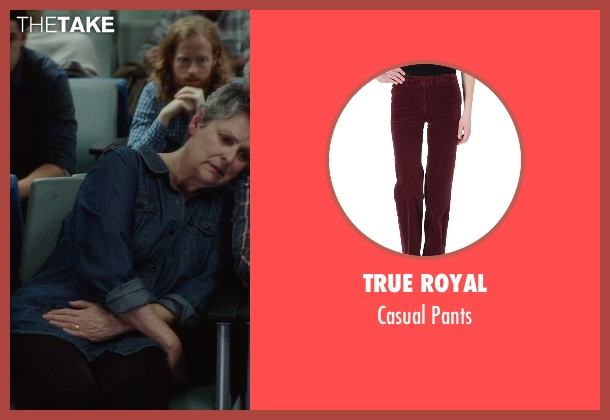 True Royal red pants from If I Stay seen with Gabrielle Rose (Gran)