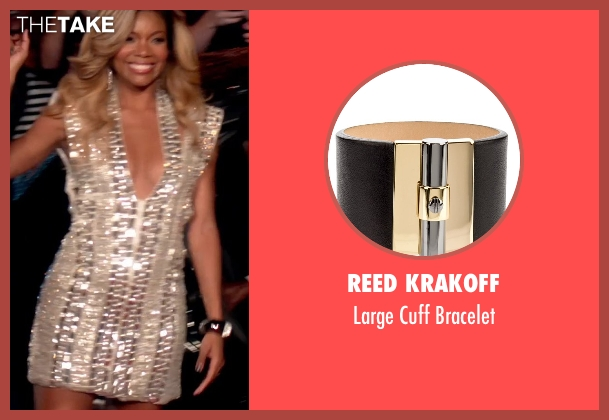 Reed Krakoff black bracelet from Top Five seen with Gabrielle Union (Erica Long)