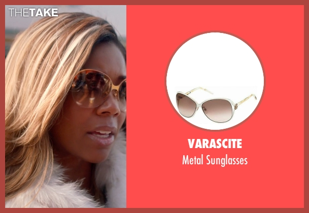 Varascite gold sunglasses from Top Five seen with Gabrielle Union (Erica Long)