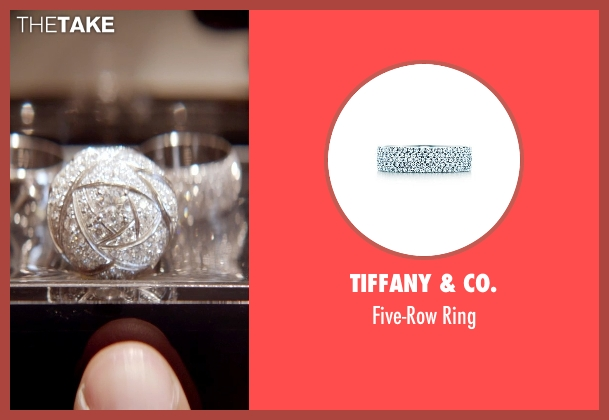 Tiffany & Co. white ring from Top Five seen with Gabrielle Union (Erica Long)
