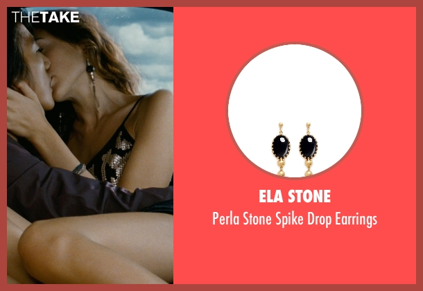 Ela Stone black earrings from Fast Five seen with Gal Gadot (Gisele)