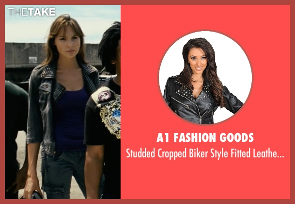 A1 Fashion Goods black jacket from Fast Five seen with Gal Gadot (Gisele)