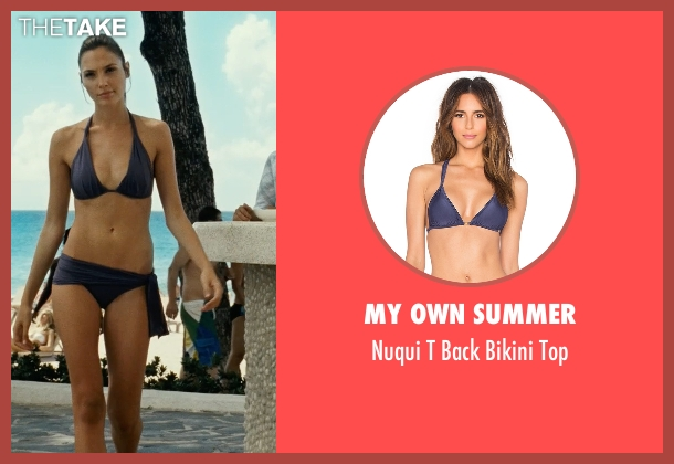 My Own Summer blue top from Fast Five seen with Gal Gadot (Gisele)