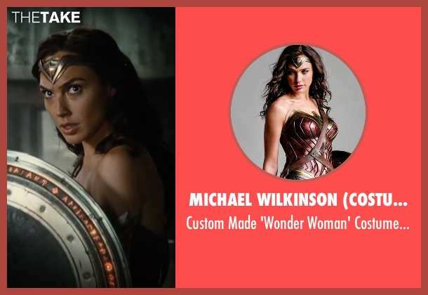 Michael Wilkinson (Costume Designer) costume from Justice League seen with Gal Gadot (Diana Prince / Wonder Woman)