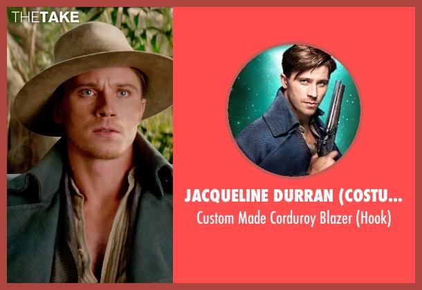 Jacqueline Durran (Costume Designer) blazer from Pan seen with Garrett Hedlund (Hook)