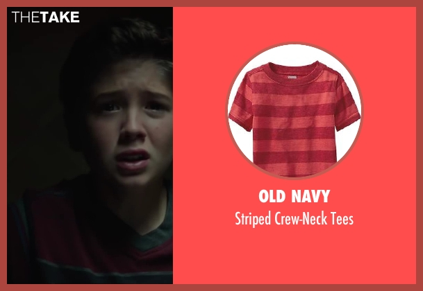 Old Navy tees from Oculus seen with Garrett Ryan (Young Tim Russell)