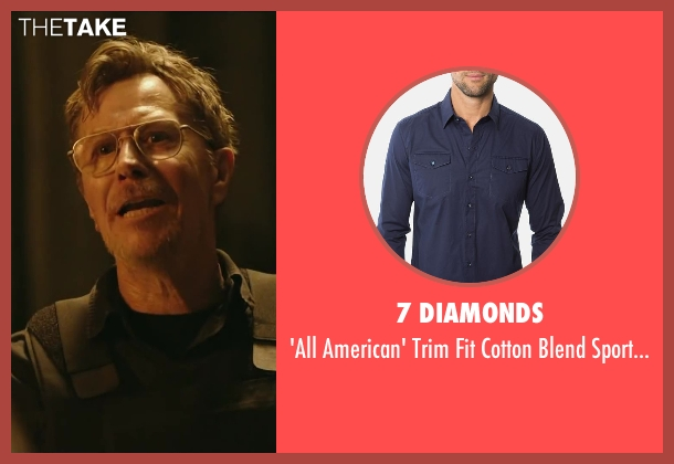 7 DIAMONDS shirt from Dawn of the Planet of the Apes seen with Gary Oldman (Dreyfus)