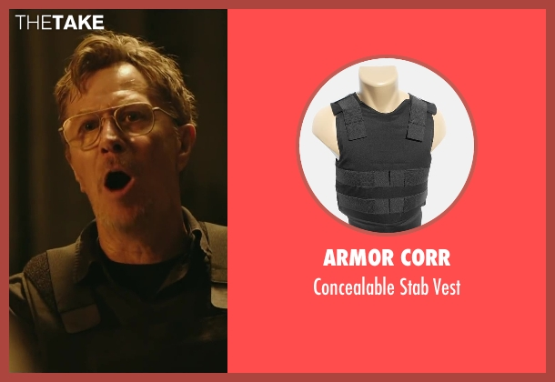 ARMOR CORR vest from Dawn of the Planet of the Apes seen with Gary Oldman (Dreyfus)