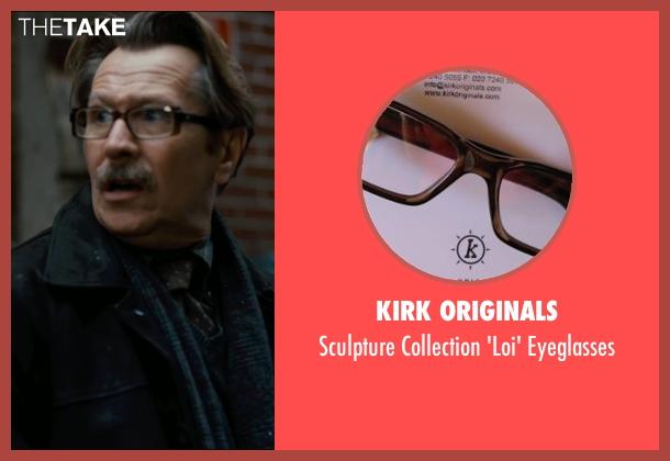 Kirk Originals eyeglasses from The Dark Knight Rises seen with Gary Oldman (Commissioner Gordon)