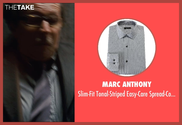 Marc Anthony gray shirt from The Dark Knight Rises seen with Gary Oldman (Commissioner Gordon)