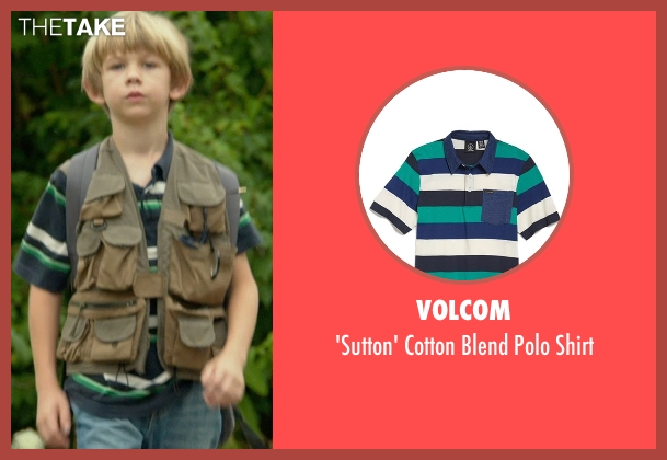 Volcom blue shirt from Me and Earl and the Dying Girl seen with Gavin Dietz (Young Greg Gaines)