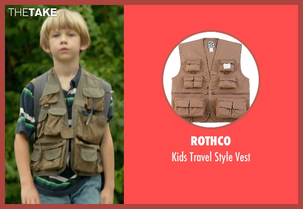 Rothco vest from Me and Earl and the Dying Girl seen with Gavin Dietz (Young Greg Gaines)
