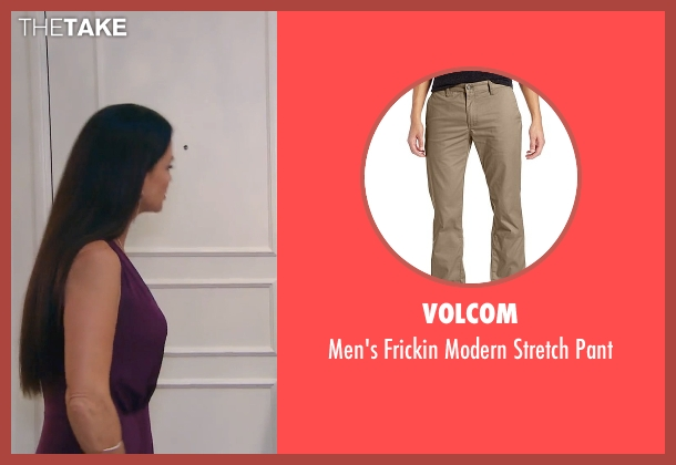 Volcom pant from (500) Days of Summer seen with Geoffrey Arend (McKenzie)