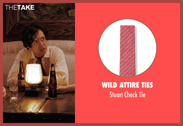 Wild Attire Ties red tie from (500) Days of Summer seen with Geoffrey Arend (McKenzie)
