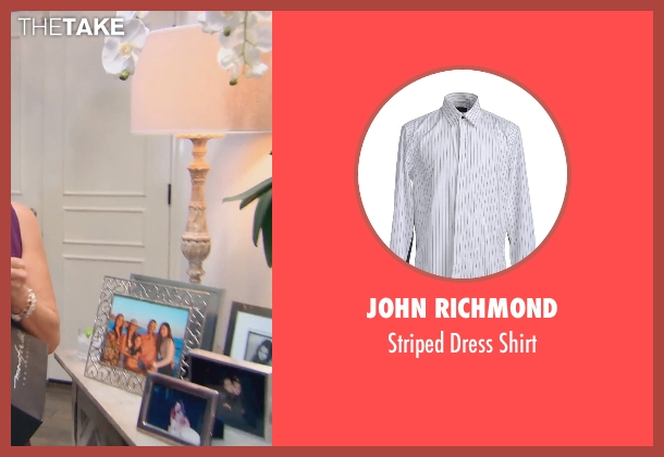 John Richmond white shirt from (500) Days of Summer seen with Geoffrey Arend (McKenzie)