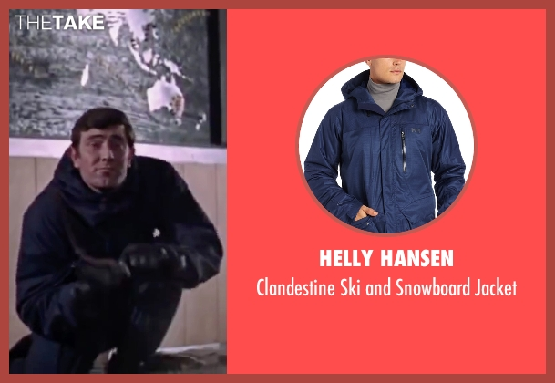 Helly Hansen blue jacket from On Her Majesty's Secret Service seen with George Lazenby (James Bond)
