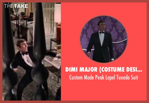 Dimi Major (Costume Designer) blue suit from On Her Majesty's Secret Service seen with George Lazenby (James Bond)