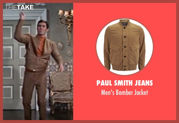 Paul Smith Jeans brown jacket from On Her Majesty's Secret Service seen with George Lazenby (James Bond)