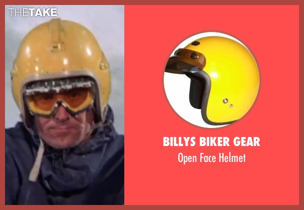 Billys Biker Gear helmet from On Her Majesty's Secret Service seen with George Lazenby (James Bond)