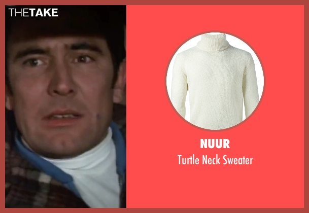 Nuur white sweater from On Her Majesty's Secret Service seen with George Lazenby (James Bond)