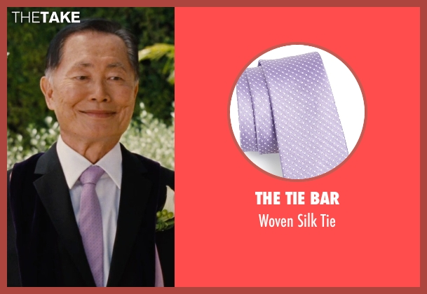 The Tie Bar purple tie from Entourage seen with George Takei (Unknown Character)