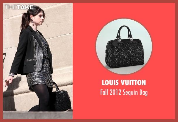 Louis Vuitton black bag from Gossip Girl seen with Georgina Sparks (Michelle Trachtenberg)