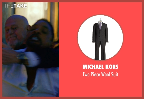 Michael Kors black suit from Focus seen with Gerald McRaney (Ownes)
