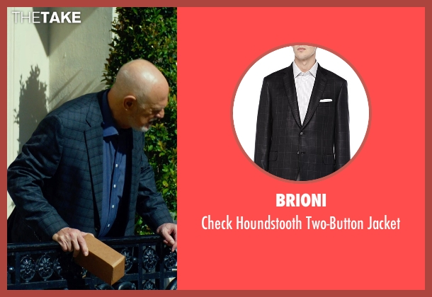 Brioni gray jacket from Focus seen with Gerald McRaney (Ownes)