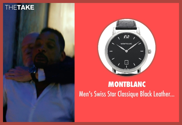 Montblanc watch from Focus seen with Gerald McRaney (Ownes)
