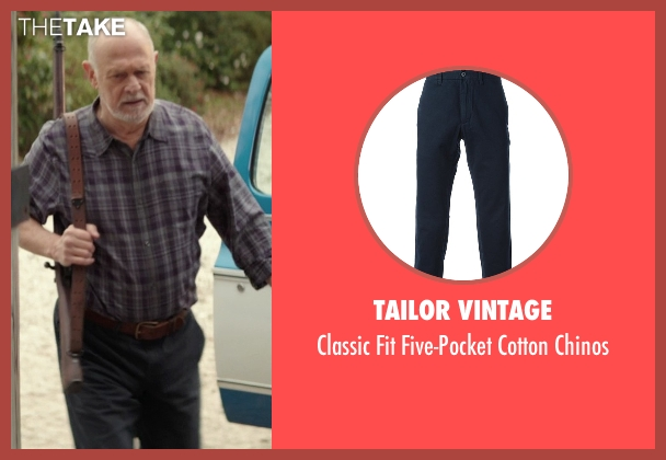 Tailor Vintage blue chinos from The Best of Me seen with Gerald McRaney (Tuck)