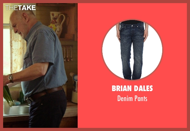 Brian Dales blue pants from The Best of Me seen with Gerald McRaney (Tuck)