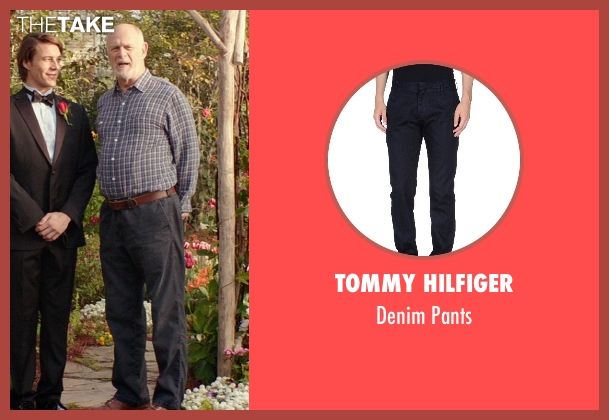 Tommy Hilfiger blue pants from The Best of Me seen with Gerald McRaney (Tuck)