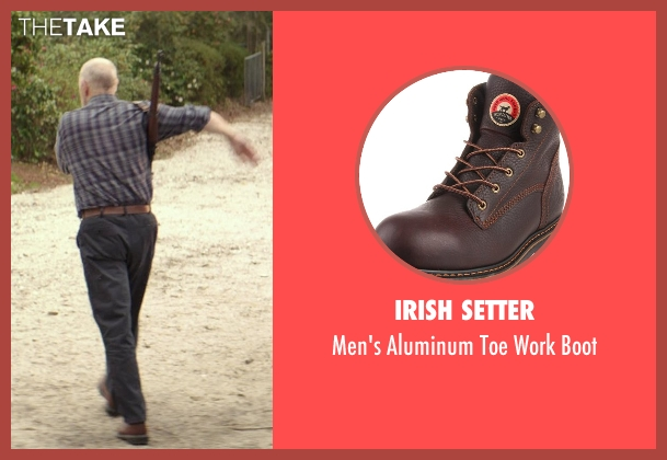 Irish Setter brown boot from The Best of Me seen with Gerald McRaney (Tuck)