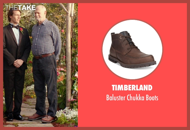 Timberland brown boots from The Best of Me seen with Gerald McRaney (Tuck)