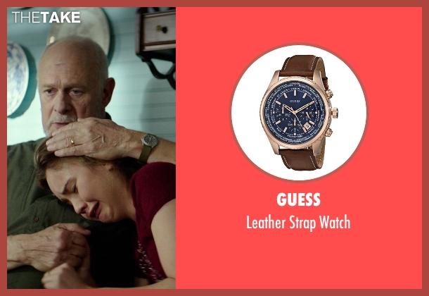 Guess brown watch from The Best of Me seen with Gerald McRaney (Tuck)