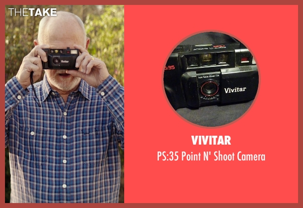 Vivitar camera from The Best of Me seen with Gerald McRaney (Tuck)