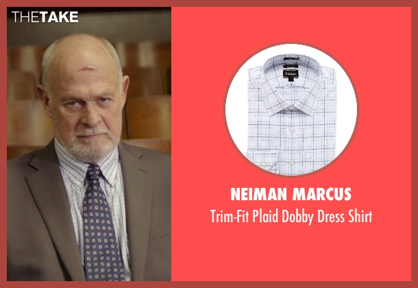 Neiman Marcus white shirt from The Best of Me seen with Gerald McRaney (Tuck)