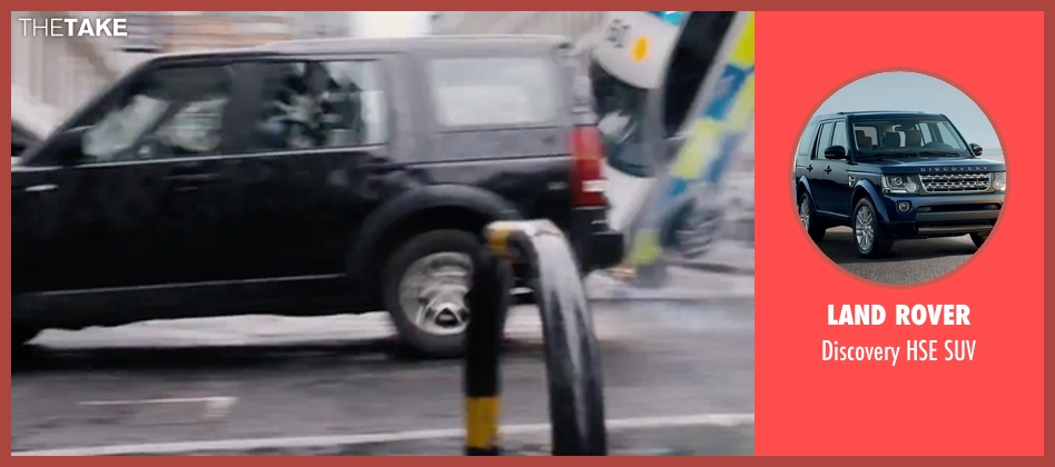Land Rover suv from London Has Fallen seen with Gerard Butler (Mike Banning)