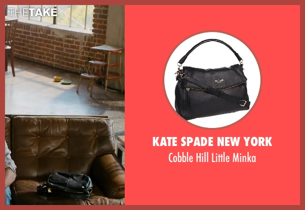 Kate Spade New York black minka from Walk of Shame seen with Gillian Jacobs (Rose)