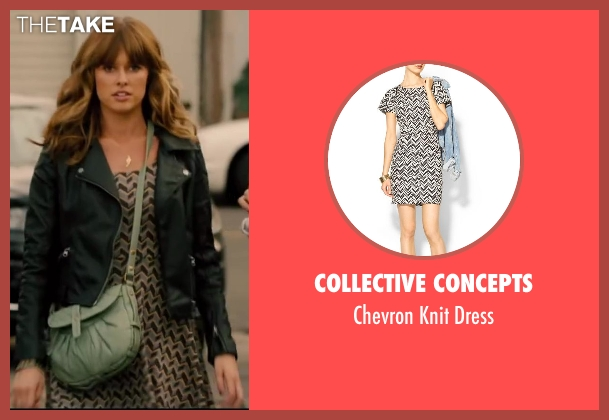 COLLECTIVE CONCEPTS dress from Walk of Shame seen with Gillian Jacobs (Rose)