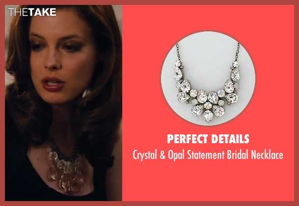 Perfect Details necklace from Walk of Shame seen with Gillian Jacobs (Rose)