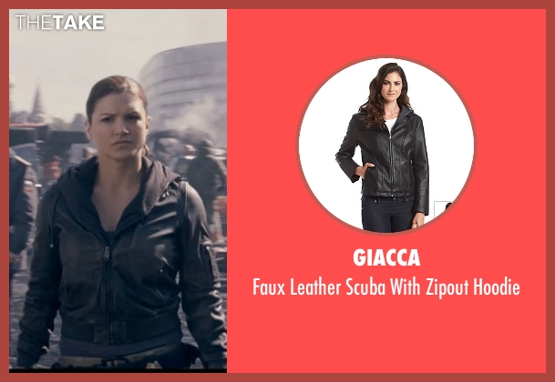 Giacca black hoodie from Fast & Furious 6 seen with Gina Carano (Riley)