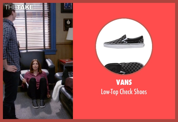 Vans black shoes from Brooklyn Nine-Nine seen with Gina Linetti (Chelsea Peretti)