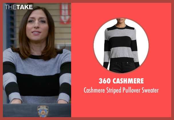 360 Cashmere black sweater from Brooklyn Nine-Nine seen with Gina Linetti (Chelsea Peretti)